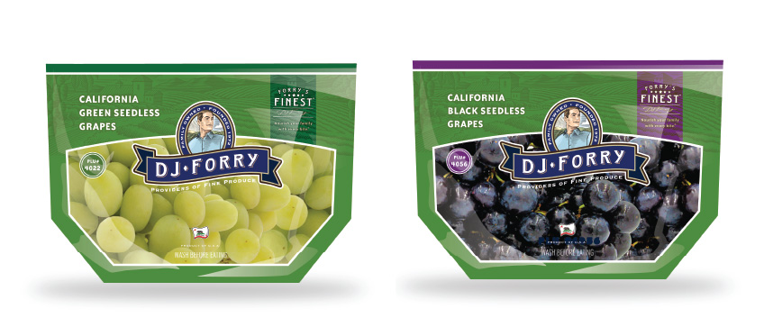 DJ Forry packaged grapes image