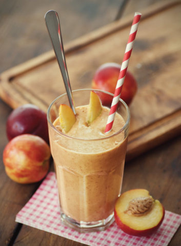 DJ Forry stone fruit smoothie image